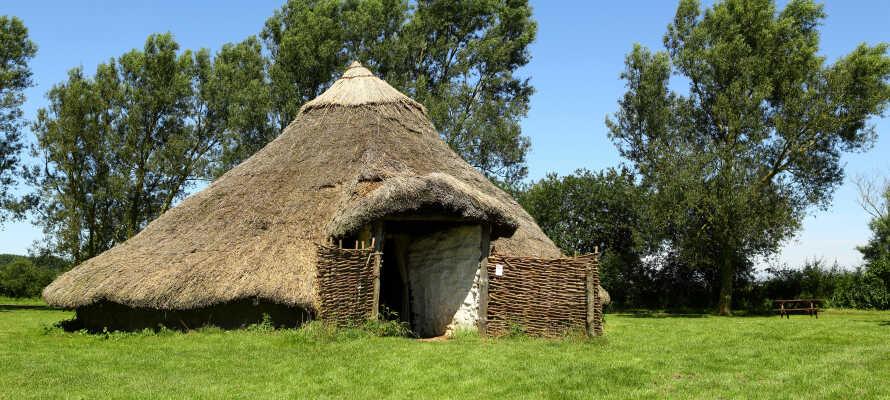 I Odins Odense kan ni utforska den levande järnåldern och lära er med om vikingarnas historia.