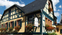 Hotellet har en flott beliggenhet midt i den tyske landsbyen, Rüdeheim am Rhein
