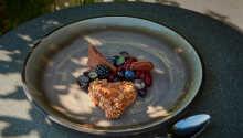 Exempel på en av de läckra rätterna som serveras i restaurangen.
