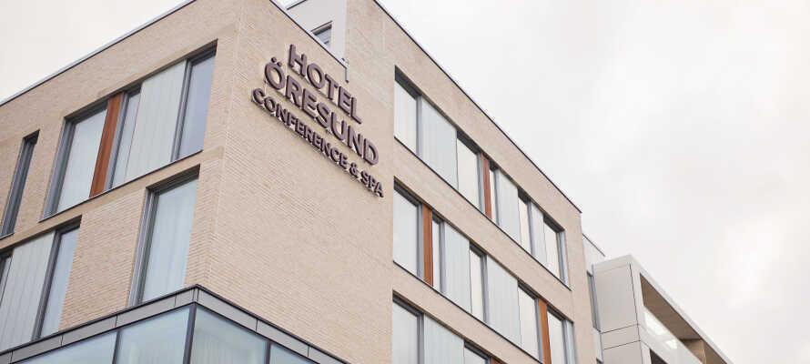 Hotel Öresund er et helt nybygget hotel som åbnede dørene for første gang i efteråret 2018.