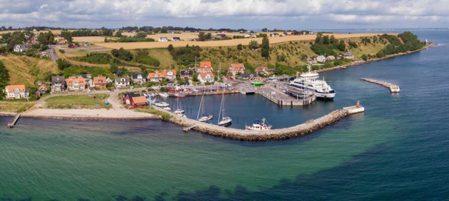 I har et godt udgangspunkt med kort afstand til både øen Ven, Helsingborg, Malmø, København og Österlen.
