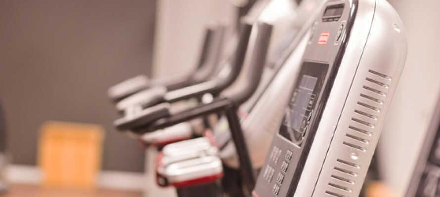 """I har gode muligheder for at holde træningen ved lige i hotellets 650m² store """"Seaside Gym""""."""