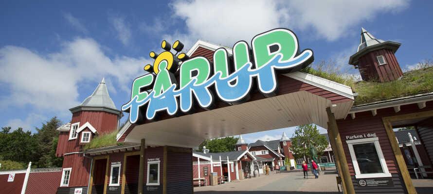 Überraschen Sie die Jüngeren mit einem herrlichen Ausflug mit Freude und Spass im  Fårup Sommerland.