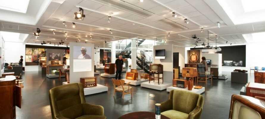 Struer är hemvist för B&O som man bland annat kan uppleva på Struer museum och här  finns också Jernbanemuseumet.