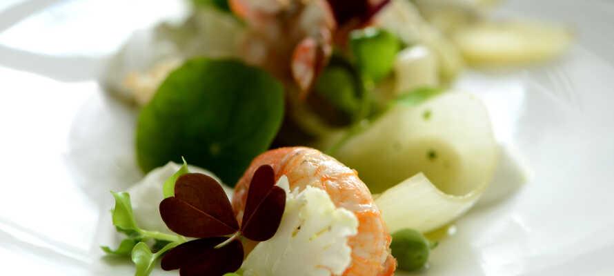 Der kredses om kvaliteten og det ser smukt ud når i besøger Restaurant No. 10.