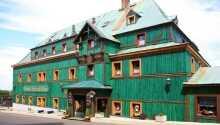 Nyt en ferie på Hotel Zeleny Dum, som stammer fra det 16. århundre.