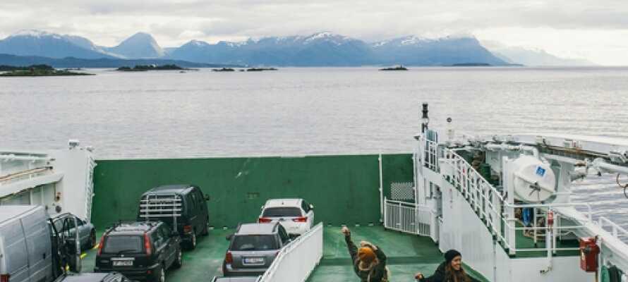 Erleben Sie die Inseln vor Molde in Richtung Atlantik