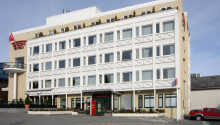 Thon Hotel Moldefjord er et moderne hotell midt Storgata, handlegata i Molde sentrum.