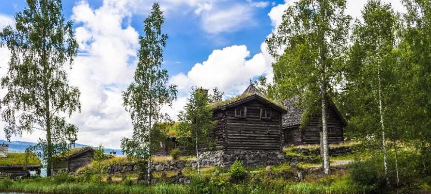 Maihaugen befindet sich in Lillehammer und ist eines der größten Freilichtmuseen in Norwegen