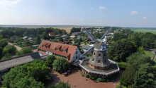 Hotellet ligger i herlige omgivelser i Bankzow sør for slottsbyen Schwerin