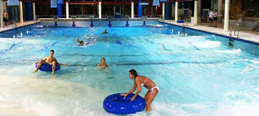 Vitamar er et lækkert badeland for de legelystne, men har også afdelinger til dem vil slappe af.