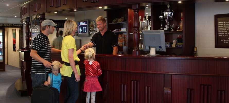 Härliga semesterdagar med många aktiviteter och familjemys ine feriedager med mange på Hotel Søgården i Brørup.