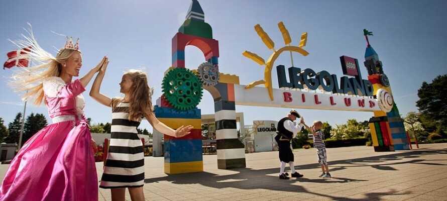 Machen Sie einen Ausflug mit der ganzen Familie ins Legoland. Hier erwartet Sie jede Menge Spaß für Groß und Klein!