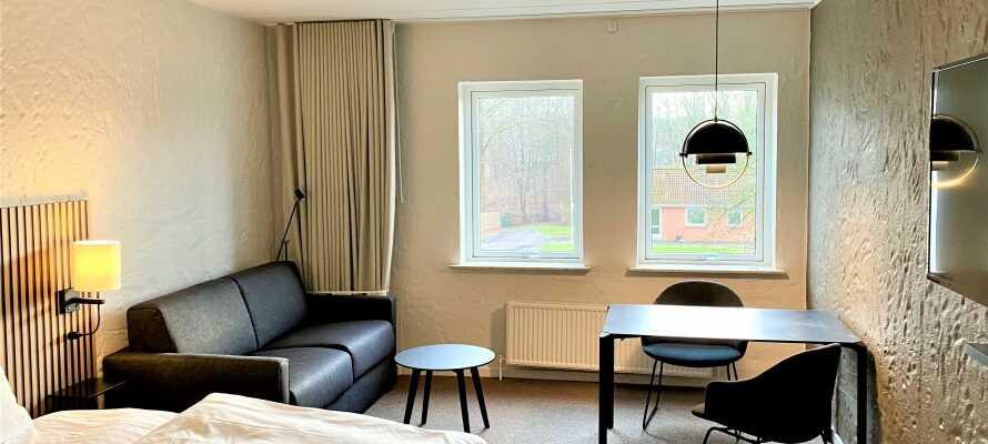 Das Hotel wurde 2021 renoviert und erneuert und bietet während Ihres Aufenthalts eine gemütliche, komfortable Umgebung.