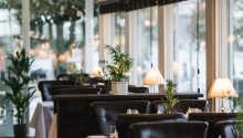 Restauranten byder på retter fra dansk-franske køkken