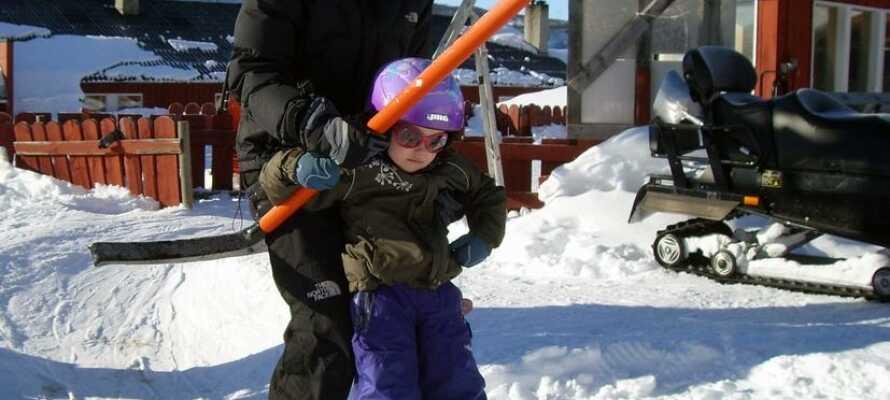 Det er gratis at benytte skiliften mens I bor på hotellet.