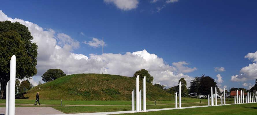 Opplev et stykke UNESCO-listet danmarkshistorie med et besøk til Jelling-monumentene.