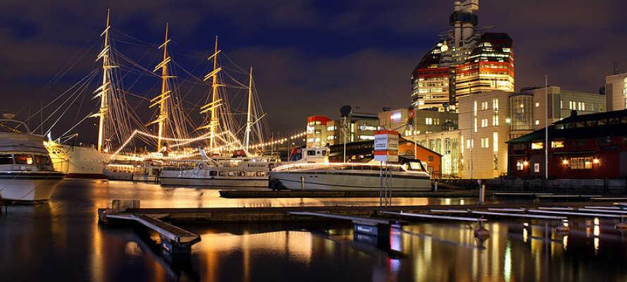 Dette hotel har en rolig placering i Göteborg og tilbyder et suverænt udgangspunkt for at udforske den smukke kulturby.
