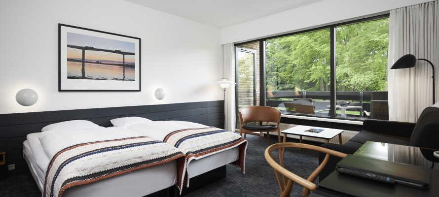 Sie werden sich in den schönen, gut eingericheten Standardzimmer schnell wie zu Hause  fühlen.
