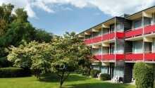 Dette hotel ligger skønt i udkanten af den smukke tyske by, Goslar