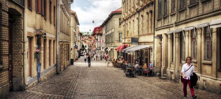 Gönnen Sie sich eine Auszeit in Göteborg, Schwedens zweitgrößter Stadt, bei einem Aufenthalt im Zentrum der Stadt.