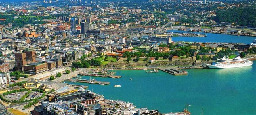Udflugtsmulighederne er mange! I bor tæt på grænsen til Norge og kan tage en dagsudflugt til hovedstadem Oslo.