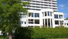 Comwell Hvide Hus ligger skønt ved Kildeparken i Aalborg