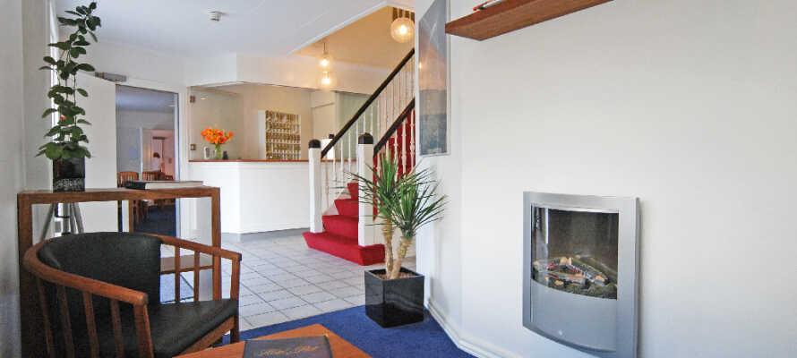Hotellet tilbyder en skøn atmosfære og udgør behagelig base for et ophold i Skagen, uden alt for meget svøb.