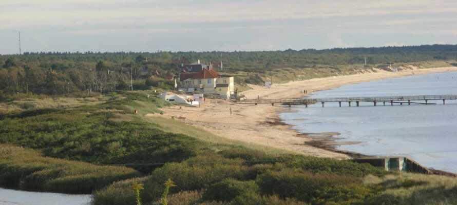 Valhall Park ligger i den naturskønne og charmerende by, Ängelholm, i det nordvestlige Skåne.