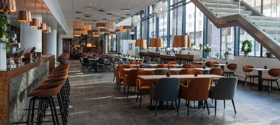 På Malmø Arena Hotel kan I bo i moderne og stilrene omgivelser nær byens centrum og områdets mange seværdigheder.