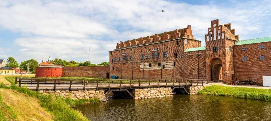 Malmöhus ist eine von Skandinaviens ältesten erhaltenen Burganlagen. Hier gibt es interessante Ausstellungen zur Geschichte der Stadt, zu Kunst und Seefahrt.