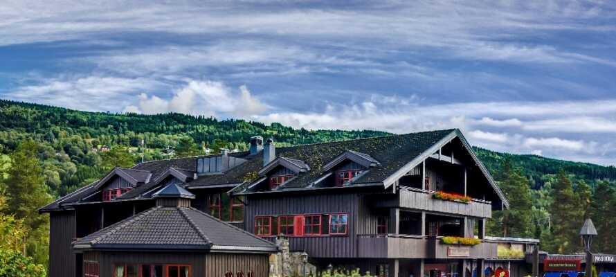 Välkomna till härliga Hunderfossen Hotell & Resort med närhet till Lillehammer.