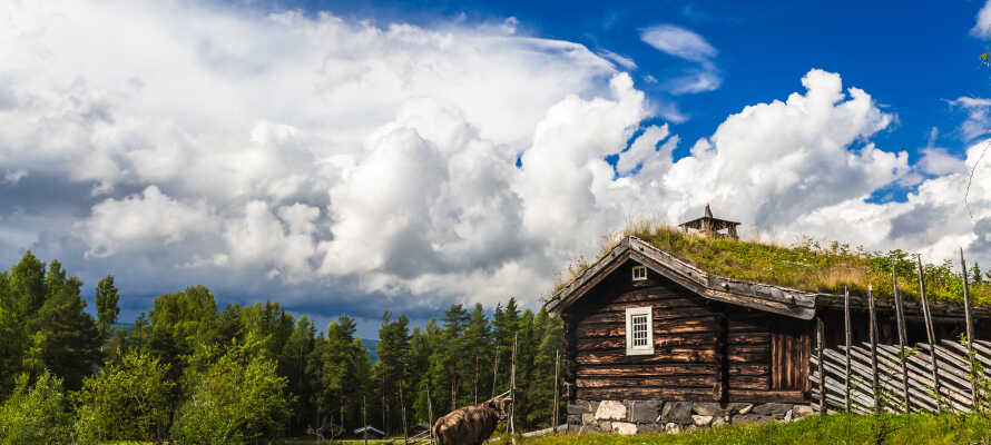 Besøg Maihaugen Nord for Lillehammer, som er det største friluftsmuseum i Norge.