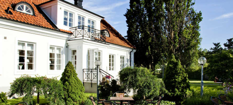 Ekebacken Hotell & Konferens har en rolig beliggenhet i et vakkert område i smålandske Markaryd.