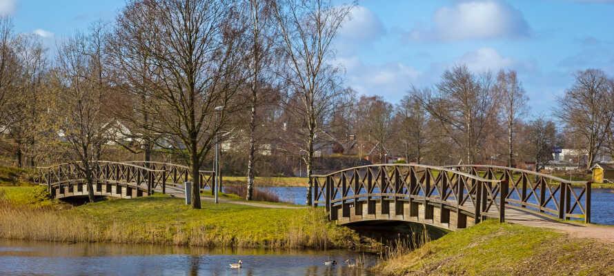 Utforsk Smålands idylliske natur, med vakre skoger, historiske steder og blanke sjøer.