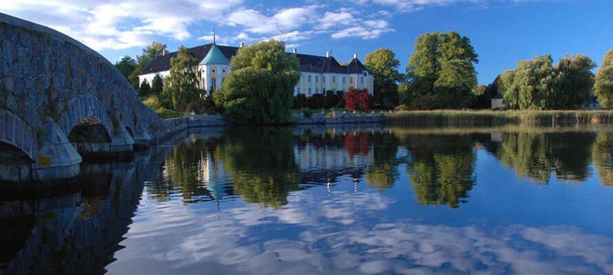 Das gemütliche Landhotel bietet helle und angenehme Rahmen für eine schöne Auszeit auf Seeland.