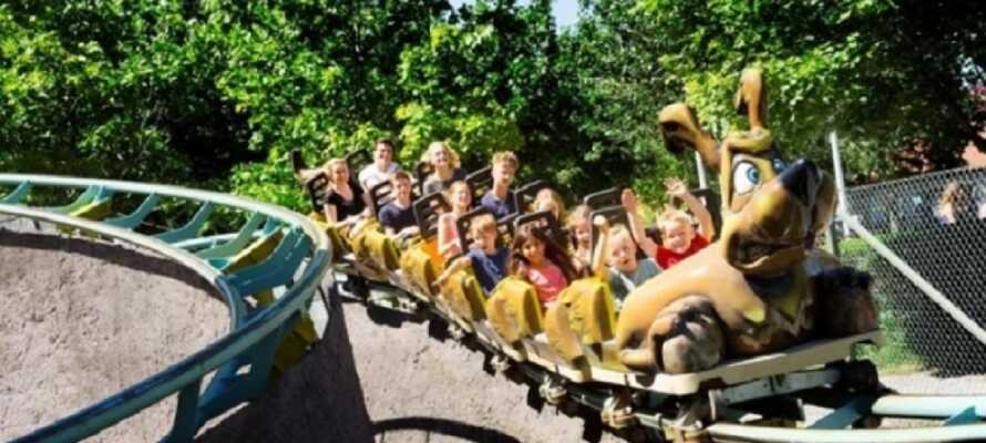 Erleben Sie ein echtes Familien-Highlight im BonBon-Land, wo es viel Spaß für die ganze Familie gibt.