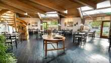 Flotte og hyggelige omgivelser i Restaurant Bregnen