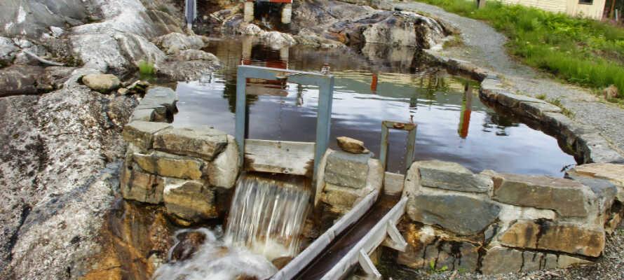 Der Wasserlauf, ein Spielparadies für Kinder