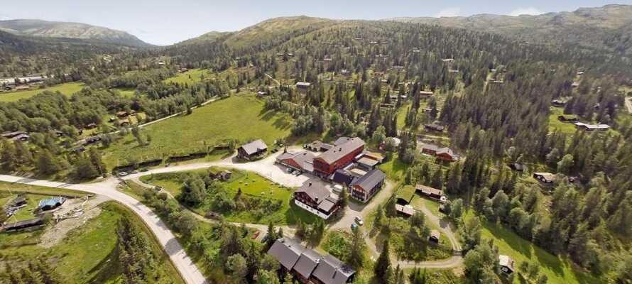 Willkommen im Rondane Hochgebirgshotel am Fuße des Rondane Nationalparks.