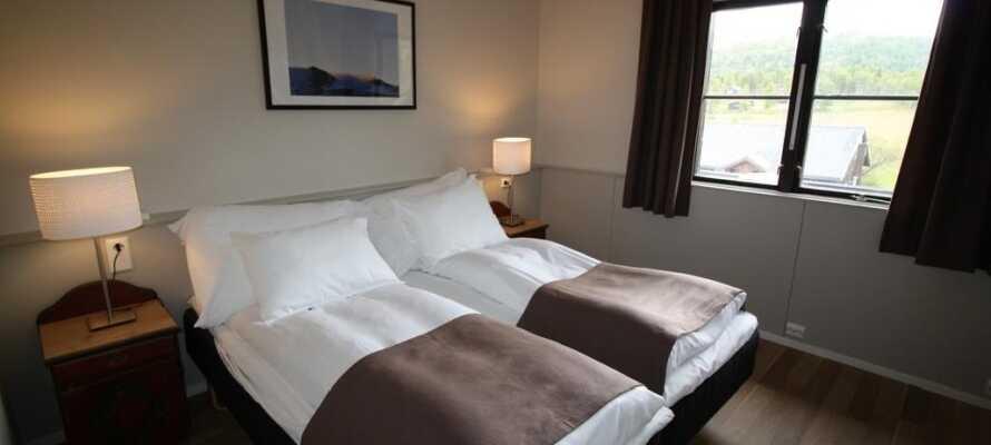 Das Hotel mit seinen gemütlichen und klassischen Zimmern bietet einen guten Ausgangspunkt für Ihren Urlaub in Norwegen.