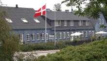 Nørre Vissum Kro har en dejlig beliggenhed omgivet af natur.