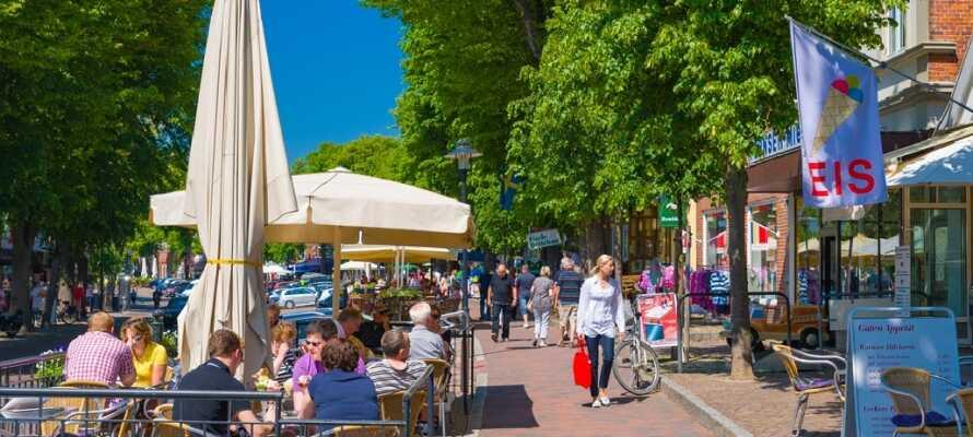 Fehmarn ist die größte Stadt der gleichnamigen Insel. Sie zeichnet sich durch eine gemütliche, bezaubernde Atmosphäre aus.