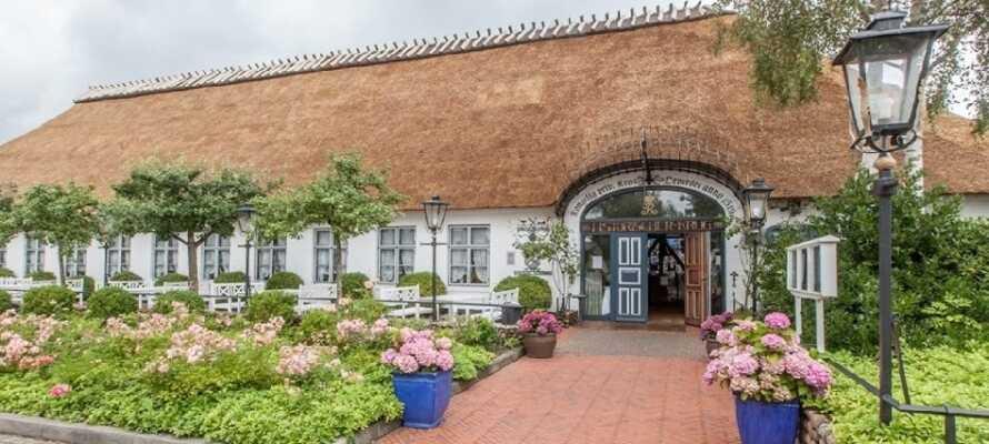 På Hotel Historischer Krug får I varm krostemning, wellness og masser af oplevelser i ét og samme ophold.