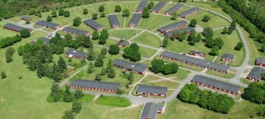 Nationella minnesparken vid Frøslevlägren från andra världskriget är ett av Europas bäst bevarade fångläger.