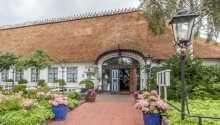 Hotel Historischer Krug ligger i skønne omgivelser lige syd for Flensborg