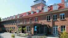 Hotellet ligger ikke langt fra sentrum av Stralund.