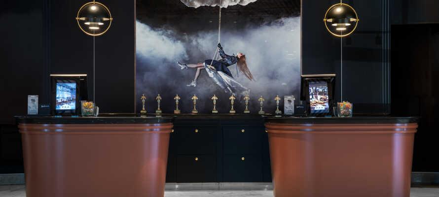 Bo på et av de flotteste hotellene i Aarhus, hvor design, kvalitet og komfort er toppklasse.