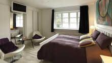 De hyggelige værelser er individuelt indrettet.