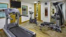 Nach einem spannenden und erlebnisreichen Tag kann man i in der Sauna des Hotels entspannen oder im Fitnessbereich trainieren.